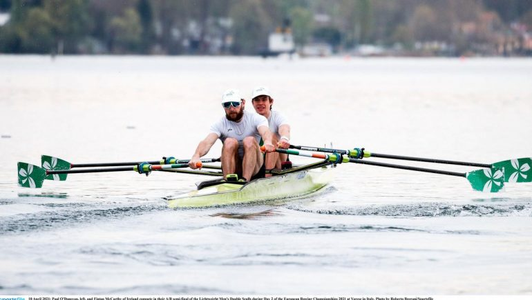 Six Irish teams have a medal quota in the final