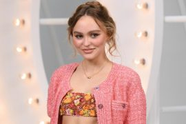 Summer dresses, pink balloons, silver candles, 22-year-old photos of Lily-Rose Depp