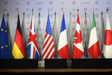 The G7 will be subject to global rates
