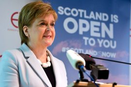 """The SNP has won the Scottish elections for the fourth time in a row.  Sturgeon: """"Nothing justifies a 'no' to the independence referendum"""""""