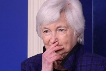 Yellen recommends a global corporate minimum tax of 15%.  Yes of France and Germany