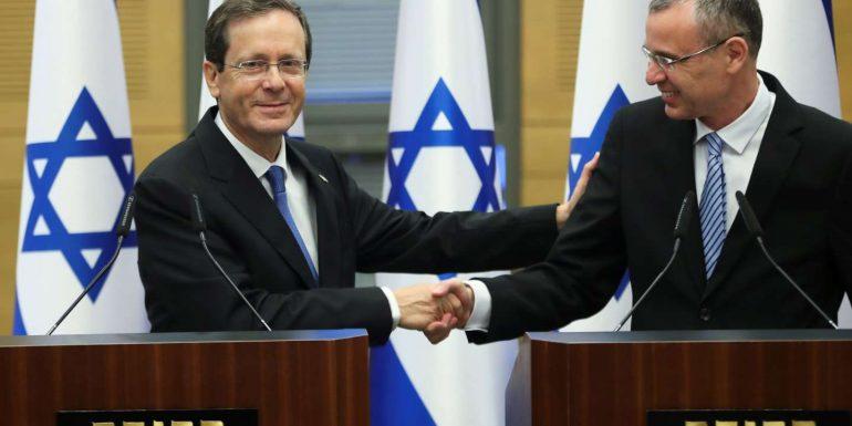 Isaac Herzog, an ancien chef du parti travilliste, is also president