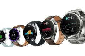 Huawei has unveiled the first smartwatch running Harmony OS