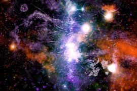 """The final supermap of the Milky Way """"draws"""" the dark matter around us and reveals the path of the Nigu Mag magallanic cloud"""