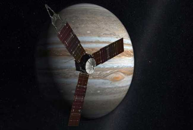 The NASA Juno spacecraft will enter Jupiter after a five-year journey