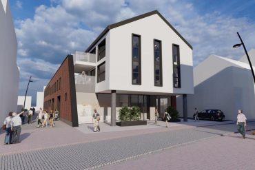 Le futur bâtiment d'Orthosmile sera situé en plein coeur du quartier d'Hodimont.