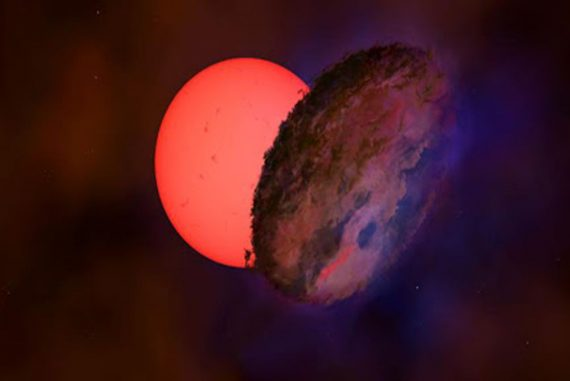 Bintang Berkedip Raksasa VVV-WIT-08 di Pusat Bima Sakti