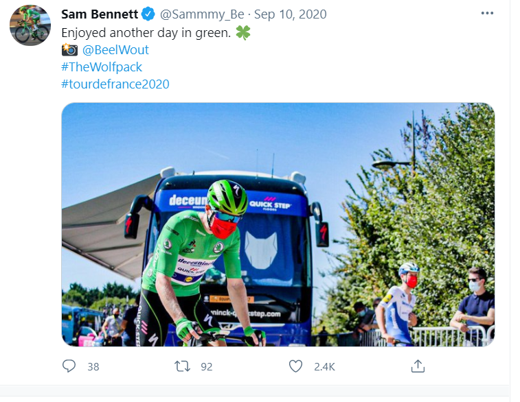 Bennett Tour de France: The ride will take place
