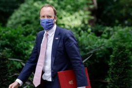UK Health Minister Matt Hancock resigns in violation of health laws