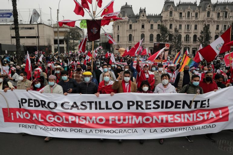 Supporters of Pedro Castillo and Keiko Fujimori take to the streets;  Elections in Peru remain without winners |  The world