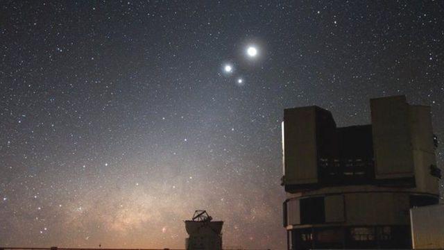 VLT Telescope in Chile