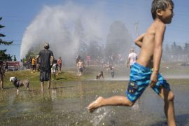 The extreme heat overtook the American West
