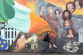 Sinn Fin aims to hold a referendum to reunite Ireland by 2025.