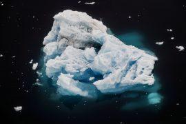 Antarctic ice melting - sea level rise by 2100