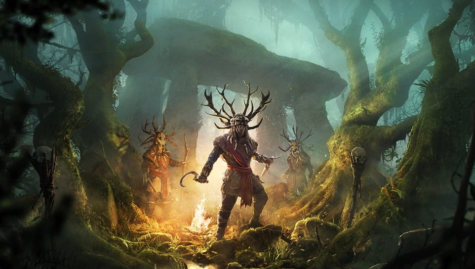 Druids Assassin's Creed Valhalla Wrath in Ireland