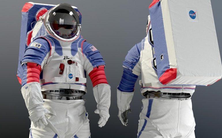 Baju astronot NASA - istimewa