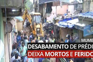 Building collapse kills and injures Mumbai    The world