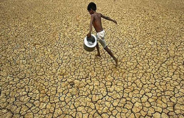 Changes in the Earth's water cycle due to global warming may lead to further droughts, with the possibility of severe drought;  Impact of the Earth's water cycle on global warming: