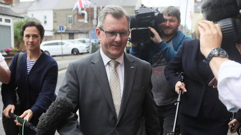 Donaldson will be the next leader in Northern Ireland DUP - Economics and Finance