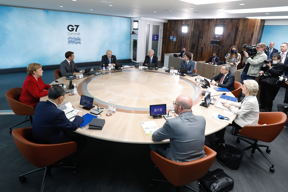 Leaders of the seven world powers meet in Cornwall (United Kingdom) from June 11 to 13