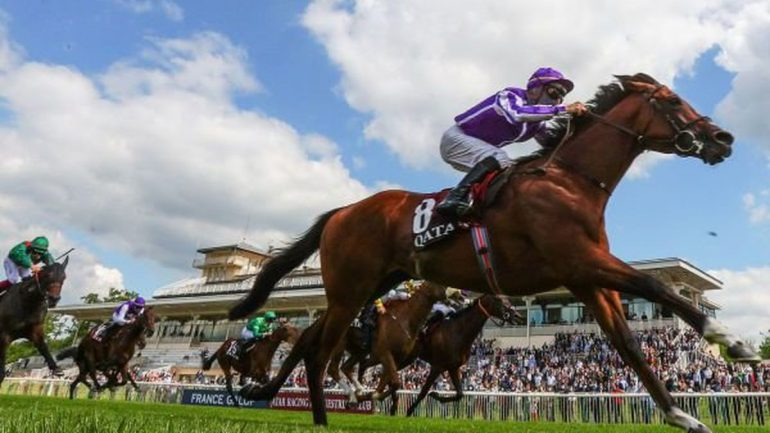 Horse Racing: St. Mark's Basilica Wins Jockey Club, Double Signed