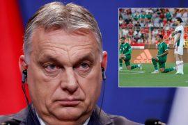 "Hungarian PM Orban backs kneeling fans as Irish coach criticizes ""incomprehensible"" reaction (video)"