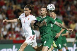 Hungary stumble Ireland in a friendly
