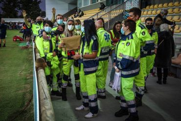 Le Zebre, volunteers and professionals involved in the fight against Kovid