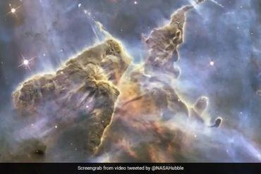 NASA ने टेलिस्कोप में कैद किया ब्रह्मांड का अद्भुत नजारा, देखकर आंखों पर नहीं होगा यकीन - देखें Video