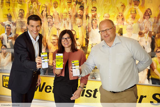 Passionate participation in sports: INTERWETTEN at Huawei AppGallery