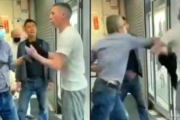 Racist seeks to harass and evict Asian shopkeepers - MANN.TV