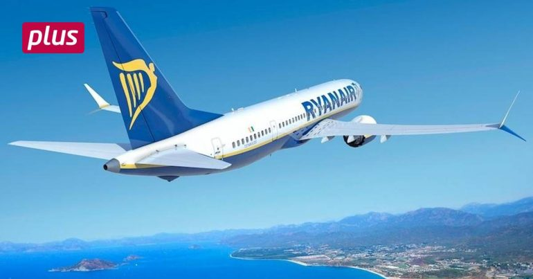 Ryanair now flies with the Boeing 737 Max - under a different name