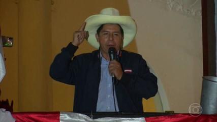 In Peru, Castillo celebrates victory, but complains about Fujimori fraud