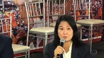 Keiko Fujimori is demanding the cancellation of 200,000 votes in the Peruvian election