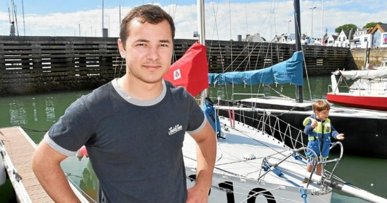 This young Carnacois sails to Greenland on a six-meter voyage - ura Ray