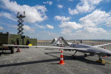 Turkish drone defuses Russian air defense video