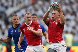 Canadian Ben Lesage returns to rugby Tests after leaving the World Cup with a broken arm