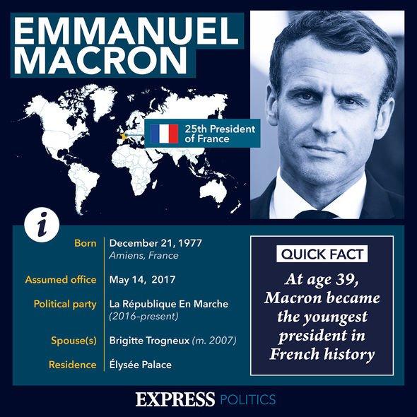 Emmanuel Macron Sheet