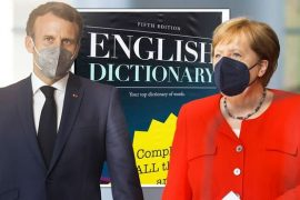 """Forget English!  Includes French language in cross shares - """"We can't be happy about this"""" - Daily Express"""