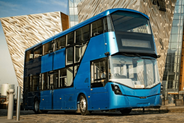 Rightbus Double Decker Battery Model for Hydrogen Electric Buses