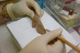 כתובת ירובעל, צילום: דפנה גזית, רשות העתיקות.