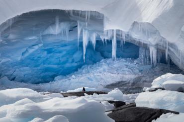 بعثة ناسا تحدد اكتشافا مخفيا تحت جليد القارة القطبية الجنوبية!