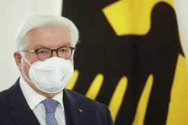 German President blames climate change for the devastating rains in the country  The world