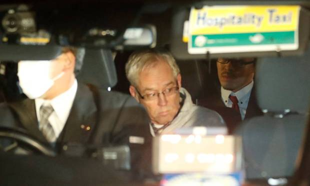 Greg Kelly, the right-hand man of Carlos Ghosle of Nissan, was released from prison in Tokyo in December after being released on bail.  Photo: Kim Kyung-hoon / REUTERS