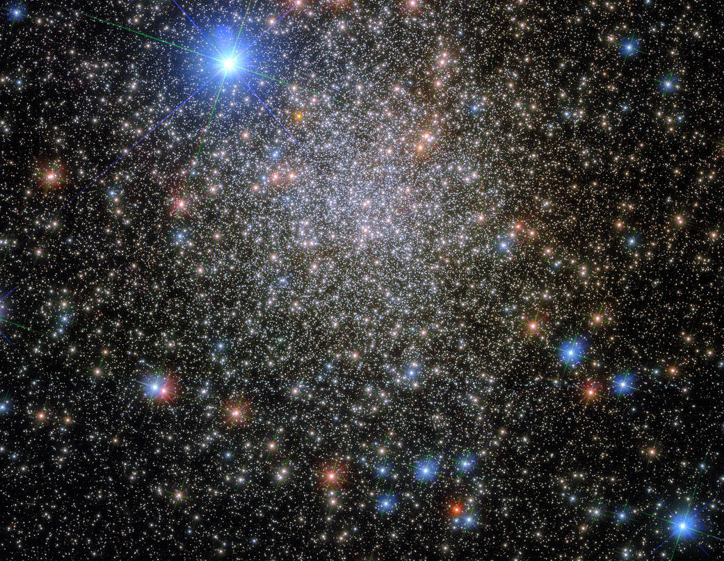 Hubble is once again exploring a spherical cluster 35,000 light-years from Earth