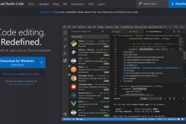 Visual Studio Code Warring State-era text editor unifies the world - Gigasine