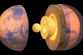 The first accurate view of the interior of Mars is given