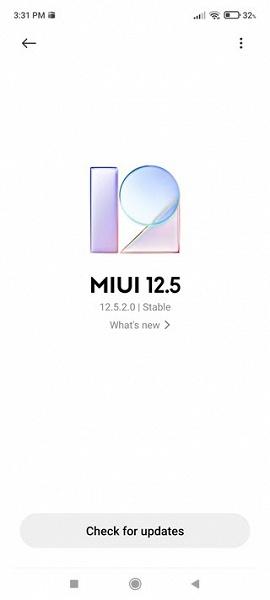MIUI Updator module