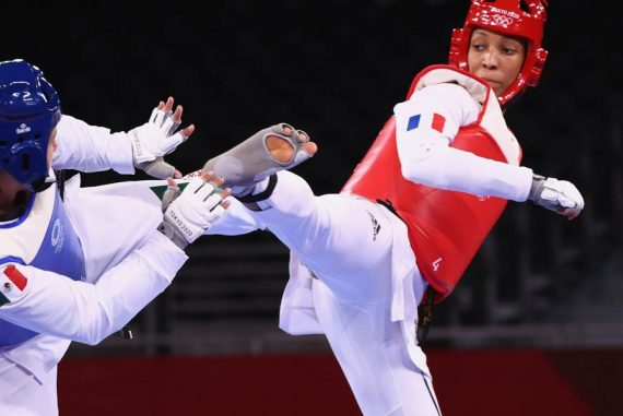 Althea Lorin wins bronze at Taekwondo Olympics at Tokyo Olympics