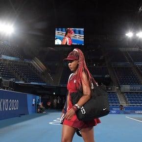 Naomi Osaka's torch went out